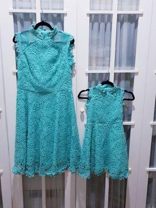 Dress kembaran mama dan anak