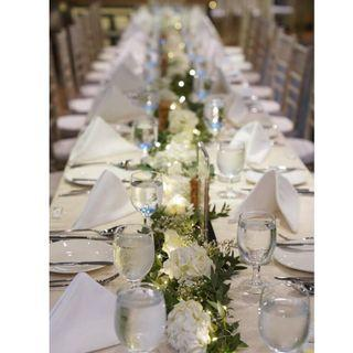 WEDDING DECOR PACKAGE / VENUE DECORATIONS /HOTEL WEDDING FRESH FLOWERS / CAFE DECOR / WEDDING TABLE CENTREPIECE