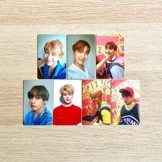OFFICIAL BTS HER Love Yourself LY 承 LOVE L O V E Photocard Photocards Rap Monster RM J-Hope V Taehyung JK Jungkook JM Jimin
