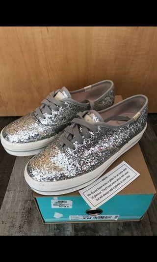 Keds x Kate spade glitter sneaker