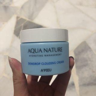 🚚 A'PIEU Hydrating Management Dewdrop Clouding Cream