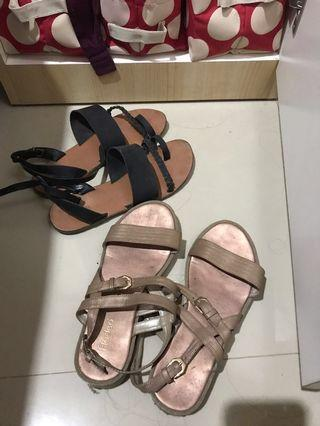 Gold and Black Sandal (Dapet 2)
