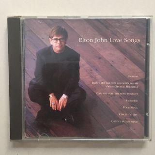 Elton john love songs (import uk)