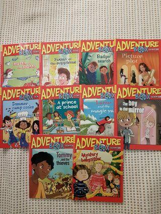 🚚 Adventure Box Books Issue 201 to 210