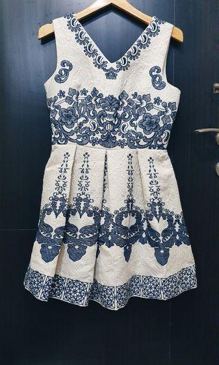 Chinoisserie dress