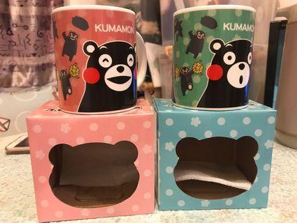 熊本熊套裝杯(1套兩隻)遇熱變圖案