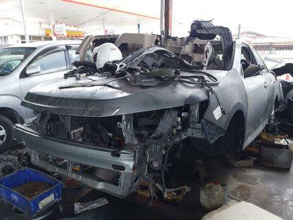 Toyota Cambry 2012 scrap