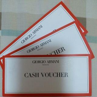 Giorgio Armani ~ Cash Voucher $300