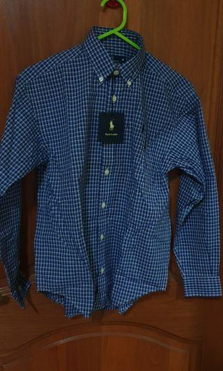 Polo Ralph Lauren Boy Long Sleeve Shirt (M size)