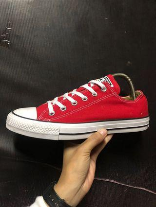 Converse Red CT low