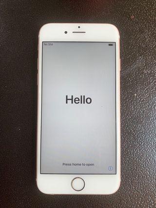 Iphone 6s lengkap ori rosegold
