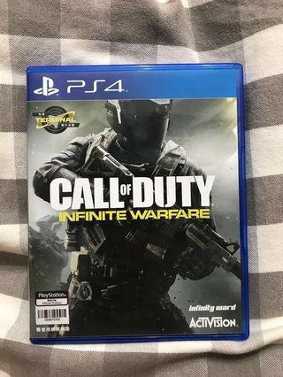 (包郵) PS4 Call Of Duty Infinite Warfare