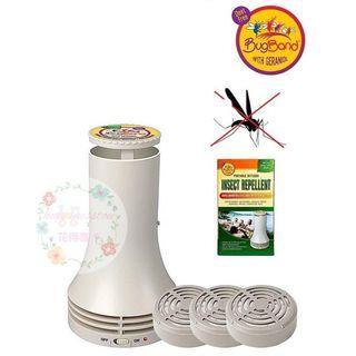 BugBand DEET Free 天然驅蟲/蚊機 $229 送三個refill