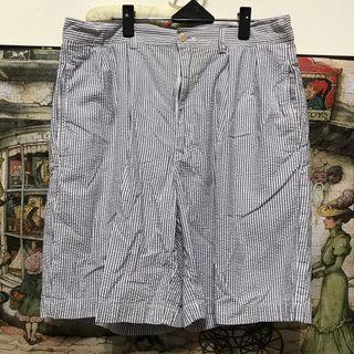 Polo Ralph lauren棉短褲,腰34吋,檔31、長51公分