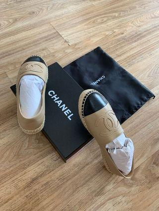 Chanel inspired Espadrilles shoes