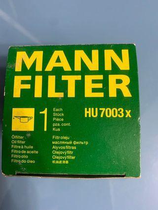 德國MANN機油芯 HU7003X高雄可自取