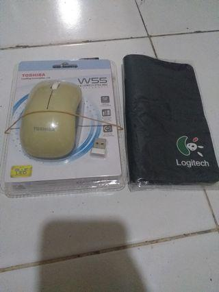 Thosiba Mouse Wirelessw55