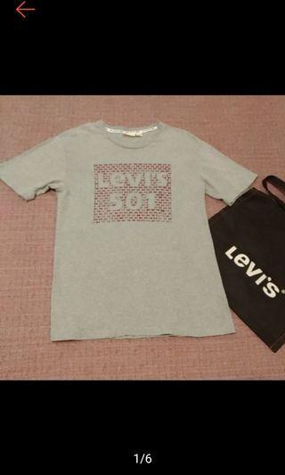 日本製 LEVI'S 型男 Logo T 短袖t