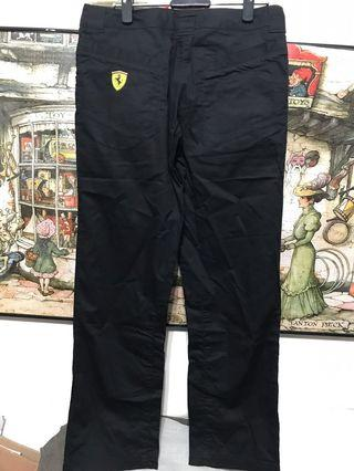 Puma ferrari聯名褲,W30吋,檔21、長96公分