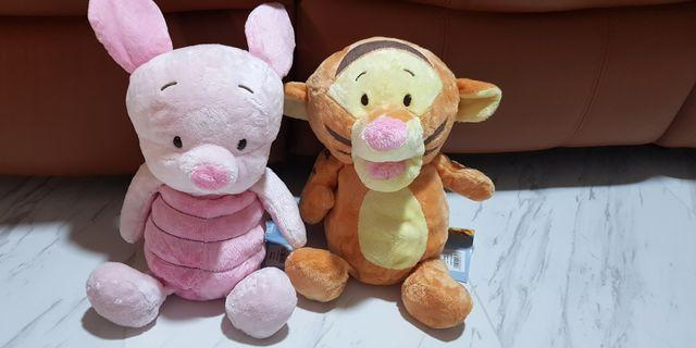 (INSTOCK) Disney Baby Tigger/Piglet Plush - 2 Characters