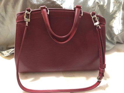 *Reduced price* Louis Vuitton epi leather in red