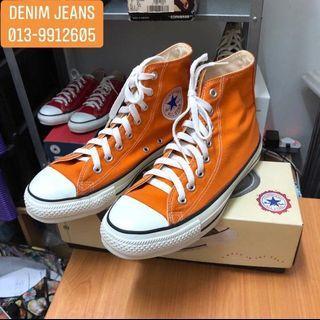 Vintage converse USA 90s orange size 7