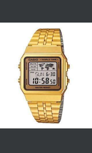 Casio 卡西歐 A500WGA 電子錶