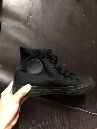 Converse CT high mono black