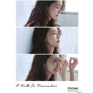 YOONA - Special Album [A walk to remember]