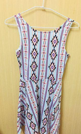 🚚 H&M幾何線條洋裝