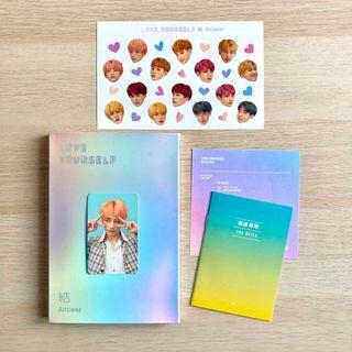 OFFICIAL BTS Love Yourself LY 結 ANSWER F Version Album + Taehyung / V Photocard