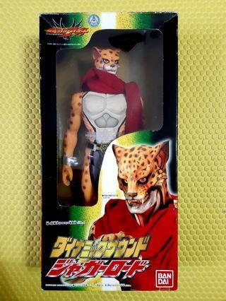 12吋,幪面超人亞桀陀Masked rider Agito Kaman sound 怪獸十二寸豹怪人,發聲大中膠公仔