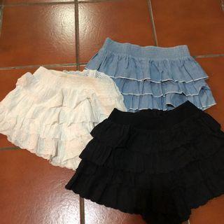 🚚 Osmose skort (Grey/Black/White/Blue)