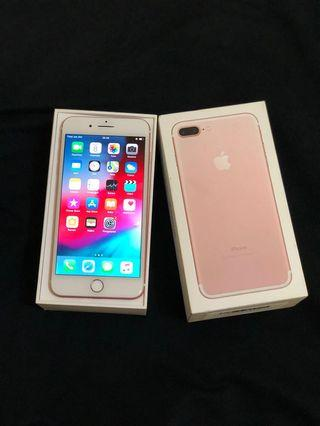 iPhone 7+ 7plus 128gb rosegold super mulus
