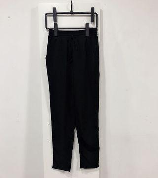 Forever21 Black Drawstring Pants