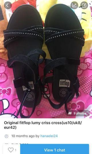 Fitflop lumy criscross