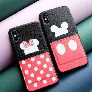 MICKEY LEATHER POCKET SOFTCASE