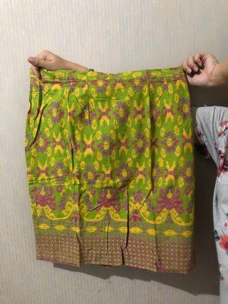 Rok batik ijo