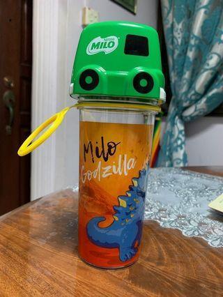 Milo Godzilla water bottle / shaker