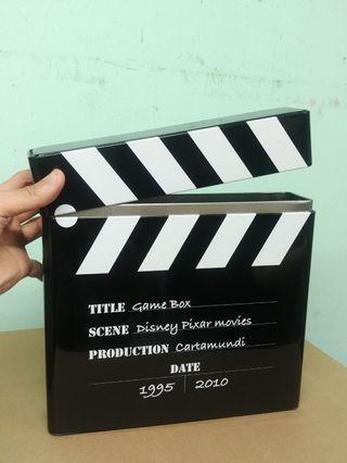 [ 電影拍板造型 ] 鐵盒 儲物盒