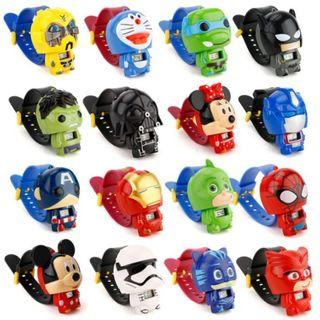 🚚 Cartoon Goodies Bag Items|Ready Stock! Retractable Watch! Many Designs to Choose