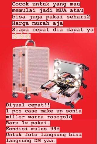 Case makeup Sonia Miller rose gold