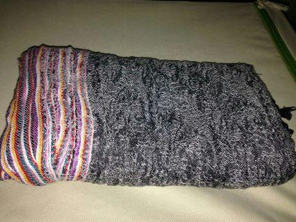 wide shawl