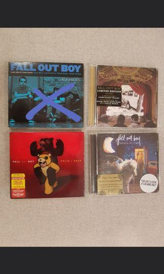 Fall Out Boy albums & DVD