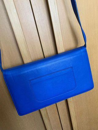 Steve Blue Mono Bag/ Clutch for OL