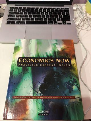 Economics Now Analysing Current Issues