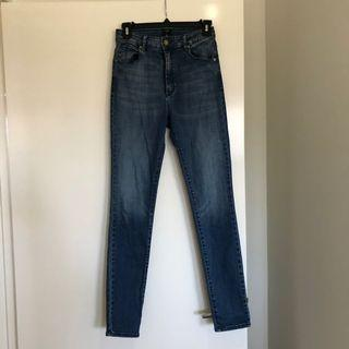 ABrand Skinny High Waist Jeans Size 6-8