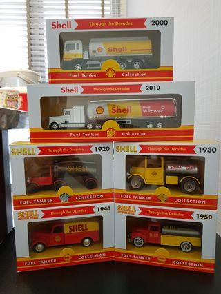 Shell Fuel Tanker Collection (full set)