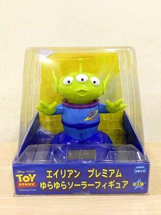Toys Story Alien Shaking head (Solar energy)