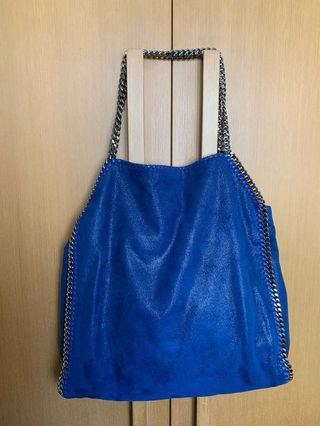 Blue Stella McCartney Falabella Tote Bag